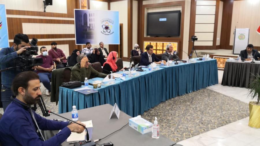 إنطلاق الورش بمشروع بمشروع الحوار الوطني العراقي الجولة الثانية في النجف الأشرف